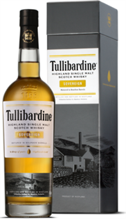 Tullibardine Scotch Single Malt Sovereign...